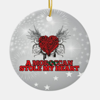 A Moroccan Stole my Heart Christmas Tree Ornaments