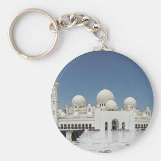 A Mosque in Abu Dhabi Key Ring