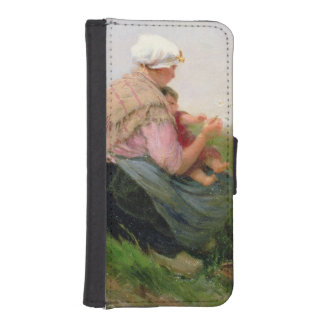 A Mother and her Small Children iPhone 5 Wallet