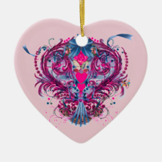 A Mother's Heart Ceramic Heart Decoration