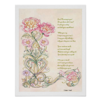 A Mother's Poem Poster