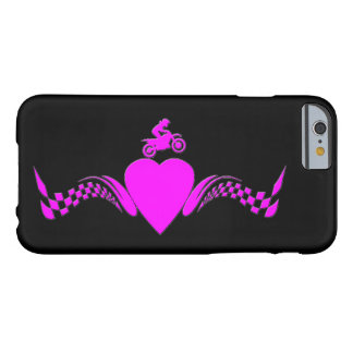 A motocross girl's heart barely there iPhone 6 case