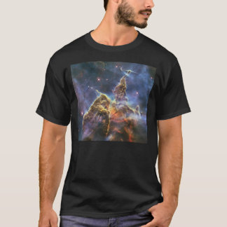 A mountain of dust and gas in the Carina Nebula T-Shirt