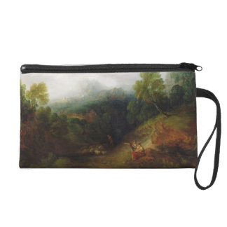 A Mountain Valley with Rustic Figures, c.1773-7 (o Wristlet Purse