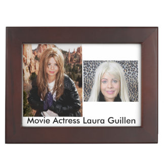 A Movie Actress Laura Guillen Item Memory Box