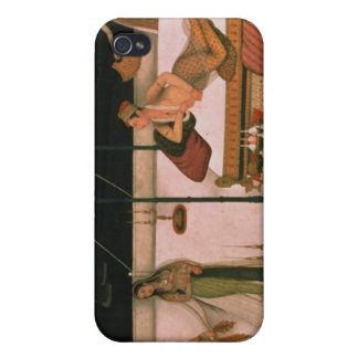 A Mughal prince receiving a lady at night iPhone 4/4S Covers