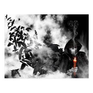A Murder of Cloak-Crows Postcard