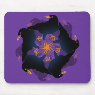 A MURDER OF CROWS MOUSE PADS
