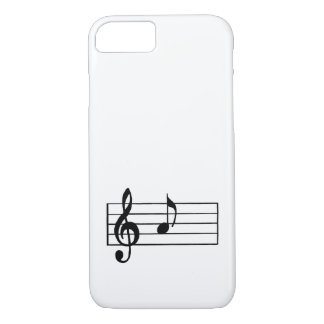 'A' Musical Note iPhone 7 Case