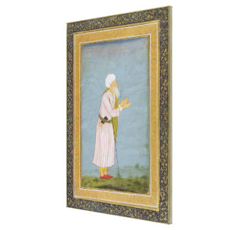 A Muslim Religious Figure, from the Small Clive Al Canvas Prints