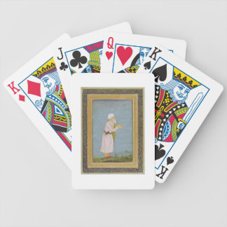 A Muslim Religious Figure, from the Small Clive Al Playing Cards