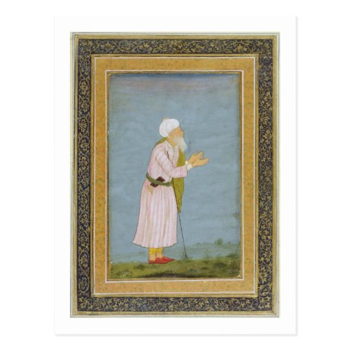 A Muslim Religious Figure, from the Small Clive Al Post Card