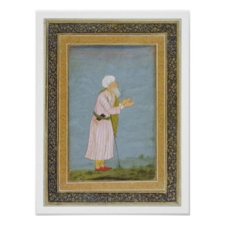 A Muslim Religious Figure, from the Small Clive Al Poster