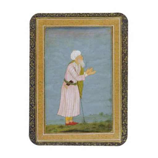 A Muslim Religious Figure, from the Small Clive Al Vinyl Magnet
