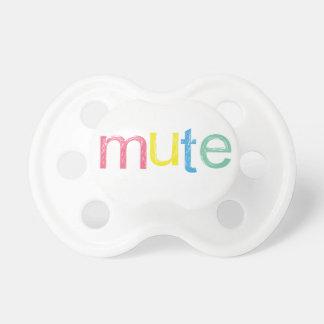 A Mute Button Dummy