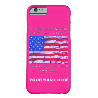 A Nation Divided Barely There iPhone 6 Case