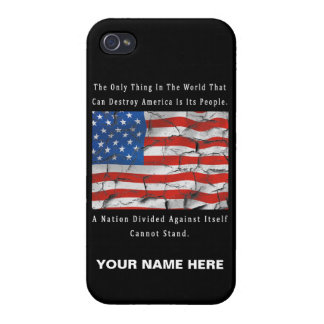 A Nation Divided Cover For iPhone 4