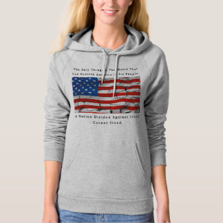 A Nation Divided (FRONT & BACK design) Hoodie