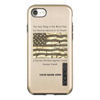 A Nation Divided Incipio DualPro Shine iPhone 8/7 Case
