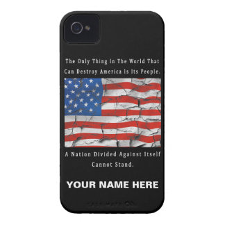 A Nation Divided iPhone 4 Case