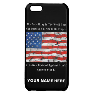A Nation Divided iPhone 5C Cases