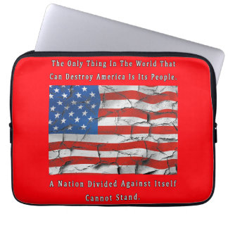 A Nation Divided Laptop Sleeve