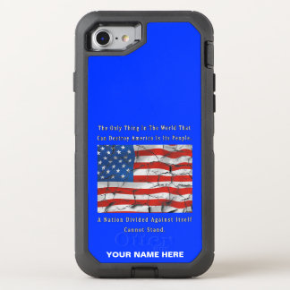 A Nation Divided OtterBox Defender iPhone 8/7 Case