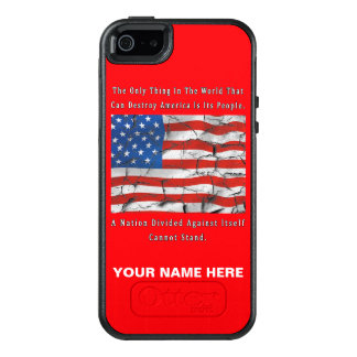 A Nation Divided OtterBox iPhone 5/5s/SE Case