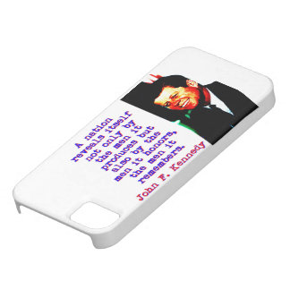 A Nation Reveals Itself - John Kennedy Case For The iPhone 5