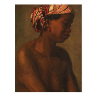 A Negress by Thomas Eakins Postcard
