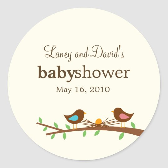 A New Egg Favour Sticker or Gift Tag Stickers