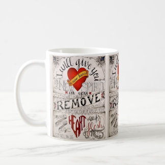 A NEW HEART Mug. Ezekiel 36:26 Coffee Mug