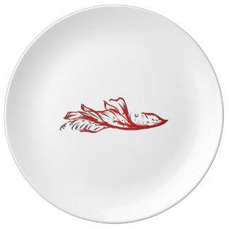 A New Leaf Porcelain Plate