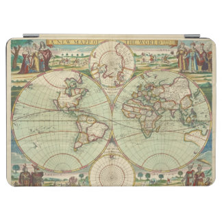 A new mapp of the world - Atlas iPad Air Cover