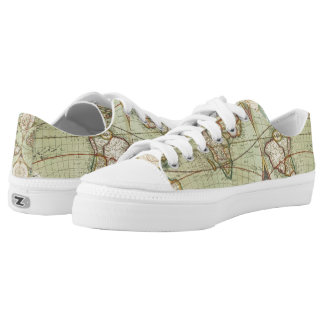 A new mapp of the world - Atlas Low Tops