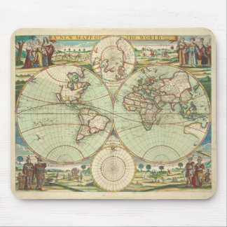 A new mapp of the world - Atlas Mouse Pad