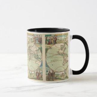 A new mapp of the world - Atlas Mug