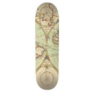 A new mapp of the world - Atlas Skate Board