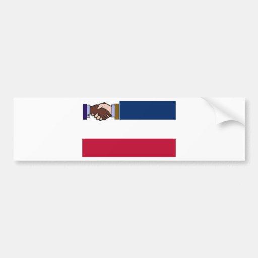 A New Mississippi: Plain Emblem Bumper Sticker