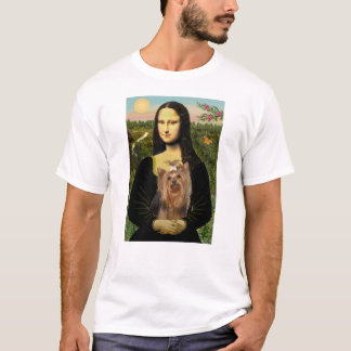 A New Mona Lisa & Her Yorkshire Terrier T-Shirt