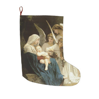 A New Name In Glory Large Christmas Stocking