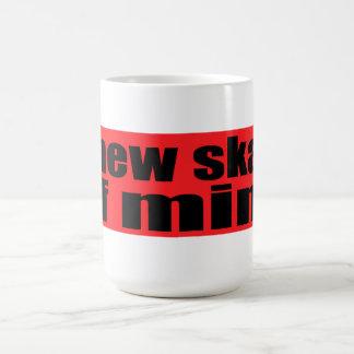 A New Skate Of  Mind Basic White Mug
