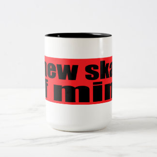 A New Skate Of  Mind Two-Tone Mug