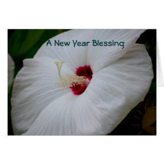A New Year Blessing Card