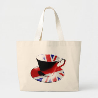 A nice cup of English Tea Canvas Bags