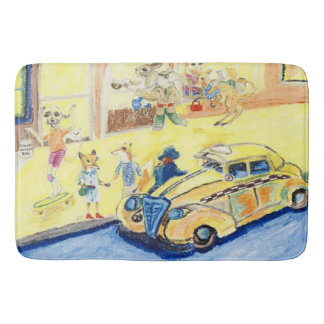 A Night On The Town Bath Mat