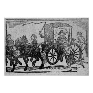 A nobleman in his carriage poster