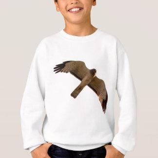 A Northern Harrier soars overhead Sweatshirt