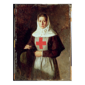 A Nurse, 1886 Postcard