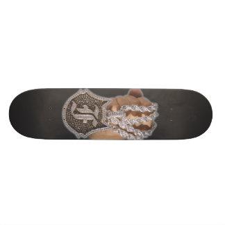 """a onefelix design """" Chain Fist """" Skateboard"""